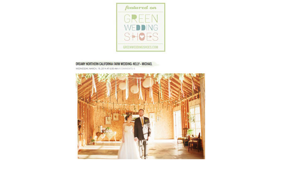 Highway One wedding, real farm wedding