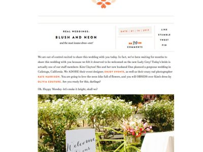 calistoga-wedding, grey-likes-feature, neon-wedding