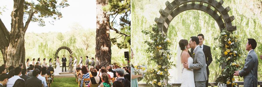 Radonich Ranch Wedding Los Gatos Mountains Wedding