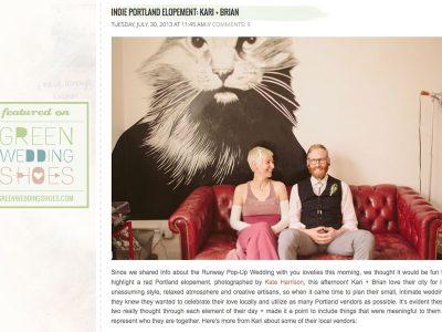Real wedding Portland