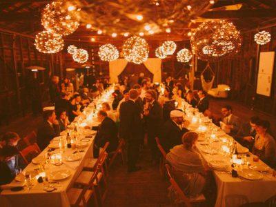 Point Reyes boathouse wedding