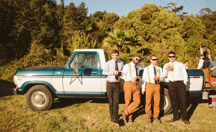 highway one, coastal wedding