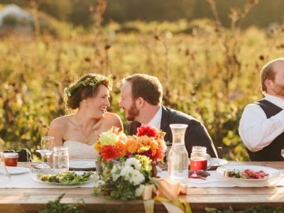 coastal wedding, highway one