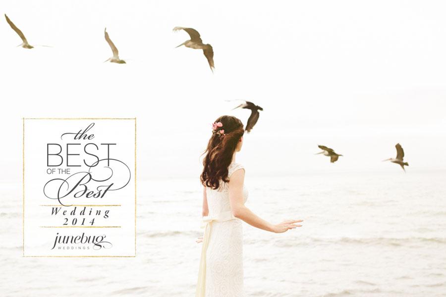 Junebug Weddings Best of the Best in wedding photos