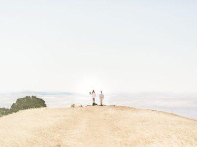 Foggy San Francisco wedding
