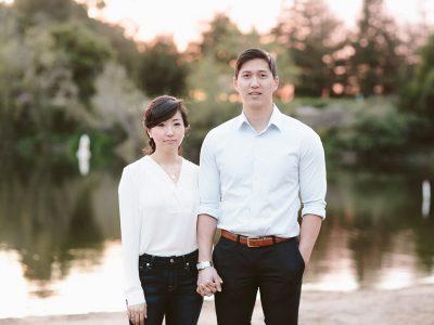 M+A // Engaged // Nestldown wedding in September