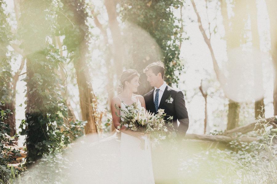Bride and groom Presidio