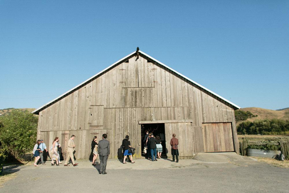 Sonoma barn wedding