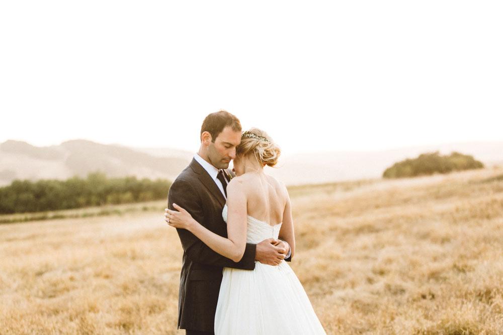 field wedding Sonoma